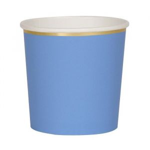 Bekertjes Bright Blue (8st) Meri Meri