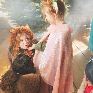 Verkleedset cape & toverstokje pailletten Meri Meri