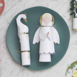 Christmas Crackers Engeltjes (6st) Meri Meri