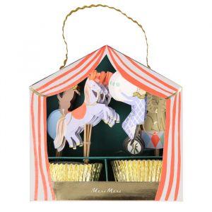 Cupcake Kit Circus parade Meri Meri