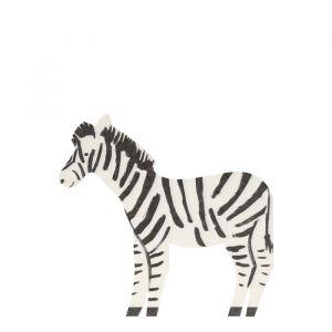 Servetten Safari Zebra (20st) Meri Meri