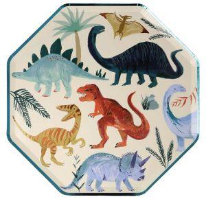 Borden Dinosaur Kingdom (8st) Meri Meri