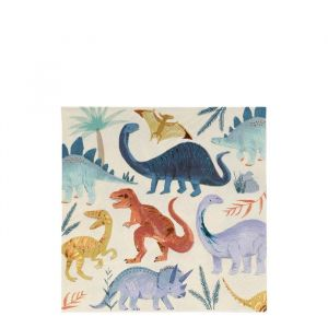 Servetten Dinosaur Kingdom (16st) Meri Meri