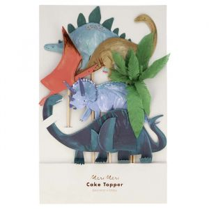 Cake Toppers Dinosaur Kingdom (6st) Meri Meri