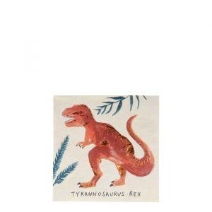 Gebaksservetten Dinosaur Kingdom (16st) Meri Meri