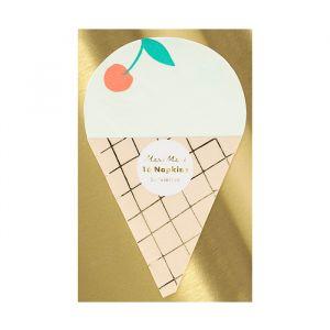 Servetten Ice Cream (16st) Meri Meri