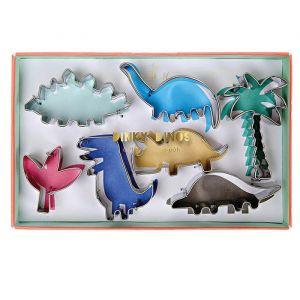 Koekjesuitstekers Dinosaur Kingdom (7st) Meri Meri