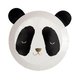 Bordjes Panda (8st) Meri Meri