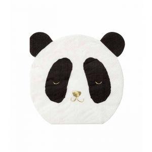 Servetten Panda (16st) Meri Meri