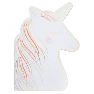 Schetsboekje met stickers Unicorn Meri Meri