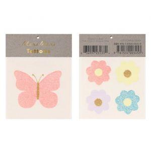Plaktattoos Floral Butterfly Meri Meri