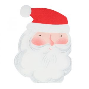 Servetten Jolly Santa (16st) Meri Meri