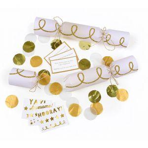 Christmas crackers Gold Twist (6st) Meri Meri