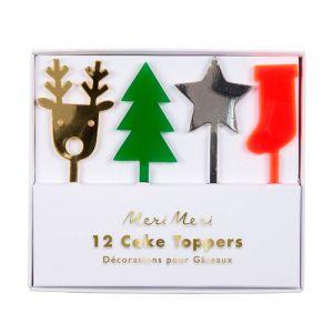 Prikkers Festive Icons (12st) Meri Meri