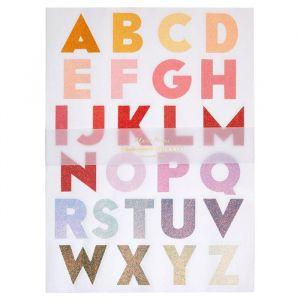 Stickers alfabet ombre (240st) Meri Meri