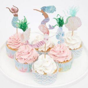 Cupcake set Mermaid Tail Meri Meri