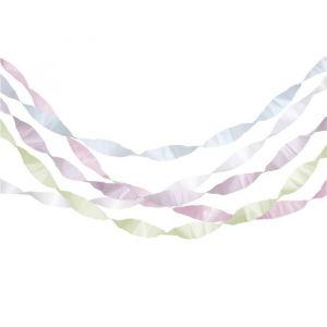 Streamers pastel mix (5st) Meri Meri