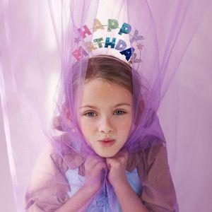 Diadeem Happy Birthday glitter Meri Meri