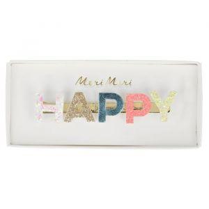 Haarclip Happy glitter Meri Meri