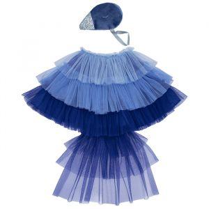 Verkleedset blauwe vogel Meri Meri