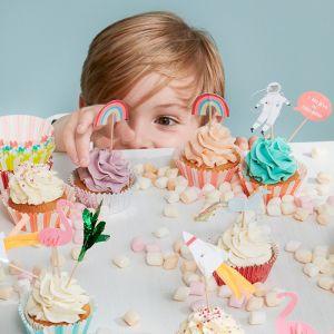 Cupcake set To The Moon Meri Meri