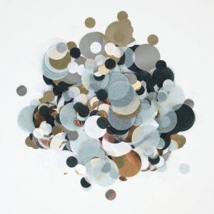 Confetti mix Zwart-Zilver-Goud