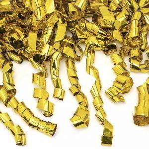 Confetti kanon serpentine goud