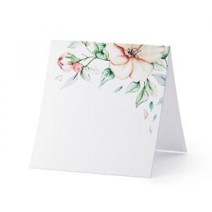 Plaatskaartjes Flower (25st)