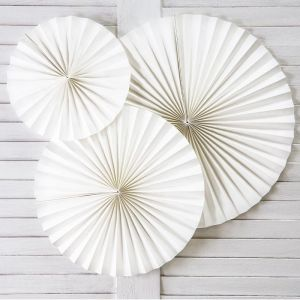 Paper Fans off-white (3st)