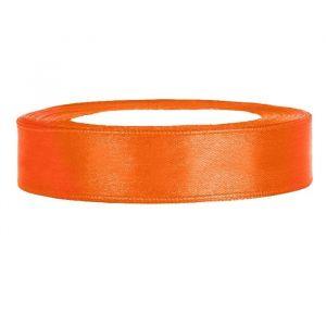 Satijnlint op rol (25m) Oranje