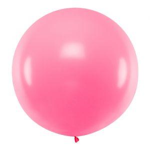 Mega ballon Roze 1m