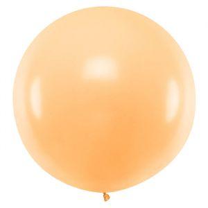 Pastel ballon peach (1m)