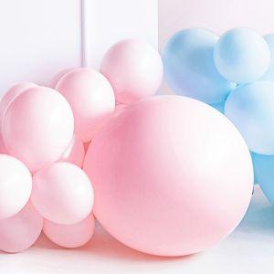 Pastel ballon roze (60cm)