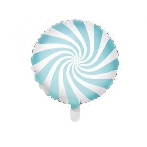 Folieballon Candy lichtblauw (45cm)