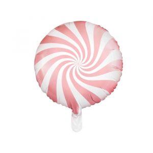 Folieballon Candy lichtroze (45cm)