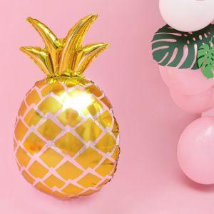 Folieballon ananas goud (67cm)