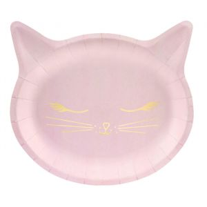 Borden Kat roze-goud (6st) Cat Collection