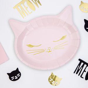 Borden Kat roze-goud (6st) Cat Collection