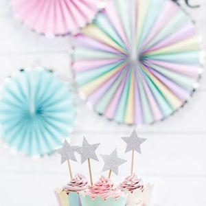 Papieren waaiers (3st) Make a Wish