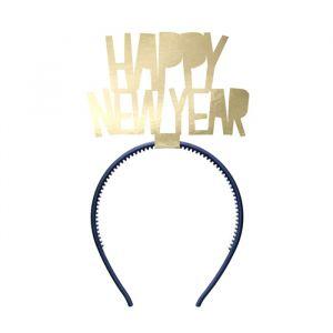 Diadeem Happy New Year goud