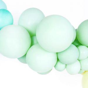 Pastel ballonnen Pistache (10st)