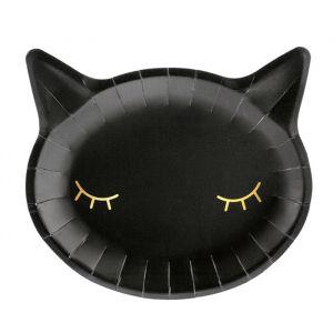 Borden Zwarte kat (6st)