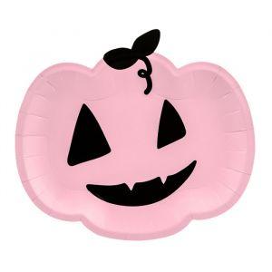 Borden Roze pompoen (6st)