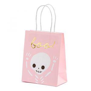 Tasjes Boo! roze (6st)