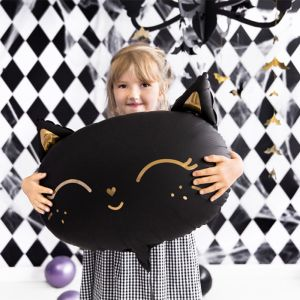 Folieballon zwarte kat