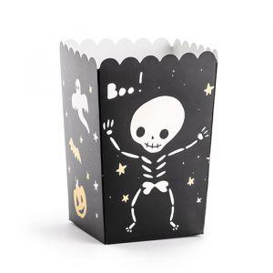 Popcorn bakjes Halloween (6st)