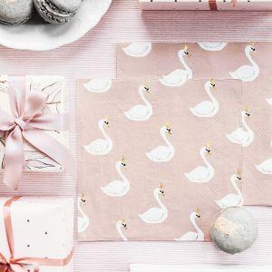 Servetten zwaan (20st) Lovely Swan