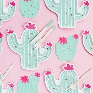 Servetten mint (20st) Cactus