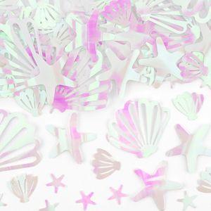 Tafelconfetti iridescent Narwhal