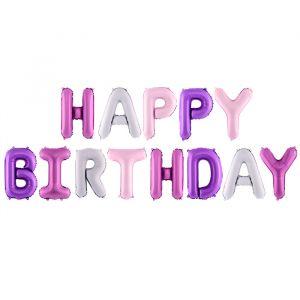Folieballonnen Happy Birthday